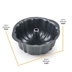 Instant-Pot-Official-Fluted-Cake-Pan-7-Inch-Gray