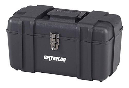 """Waterloo Portable Series Tool Box made with Lightweight Industrial-Strength Plastic, 17"""""""