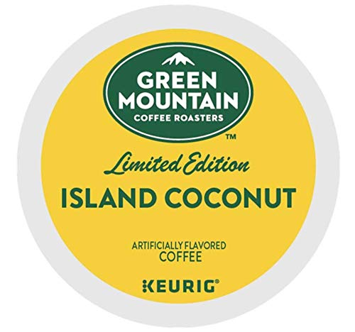 Green Mountain Coffee Island Coconut K-cups Coffee 72 Count