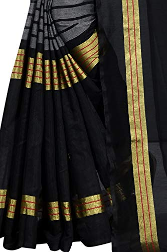 Kanchan Women's Venkatgiri Cotton Silk Saree With Blouse Piece TODAY OFFER ON AMAZON
