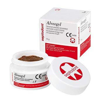 Alvogyl dressings for dry sockets