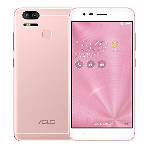 ASUS ZenFone 3 Zoom ZE553KL 4GB RAM / 64GB ROM 5.5-Inch 4G Dual SIM FACTORY UNLOCKED International Stock No Warranty (ROSE GOLD)