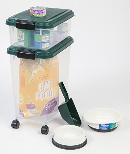 Iris 3 piece airtight pet food container combo for 3 pieces cuisine