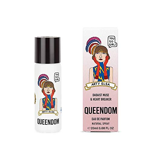 Queendom Perfume Arty Elsa for Women | Fruity Edible Fragrance | 20ml Eau de Parfum Mini Spray | Cruelty Free, Paraben Free, Sulfate Free
