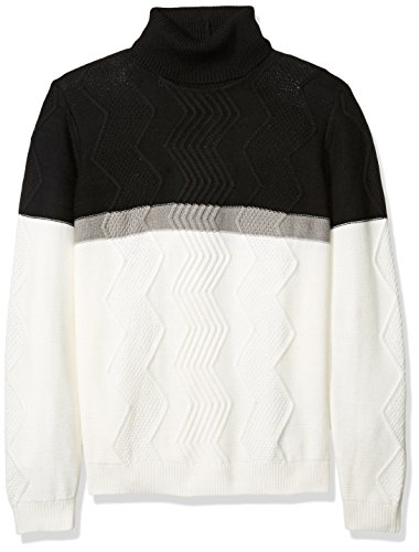 41Yy1D%2BPpLL Turtle neck Color blocked