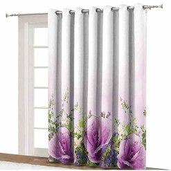 Flower Blackout Curtains