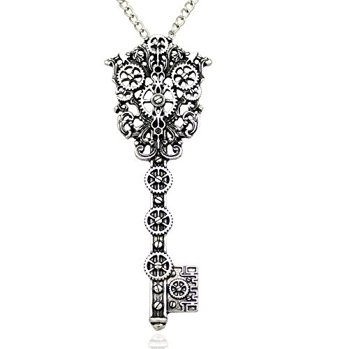 Victorian Skeleton Key Necklace