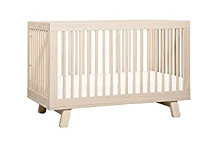 Delight in mid-century modern appeal with the Hudson 3-in-1 Convertible Crib. Stylish rounded spindles bring a simple charm, and give the Hudson Crib an open, radiant feel. The all-spindle sides let you keep an eye on baby from all angles, while four...