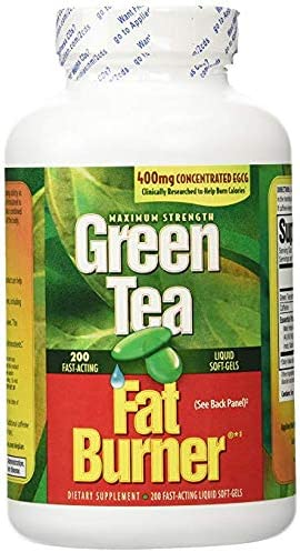 Green Tea Fat Burner with EGCG