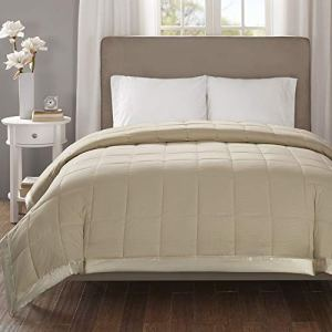 Madison Park Down Alternative Blanket Hypoallergenic 3M Scotchgard Stain Resistant Bedroom Bedding, Oversized King…