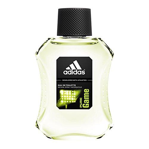 Adidas Eau de Toilette Spray for Men, Pure Game, 3.4 Fluid Ounce