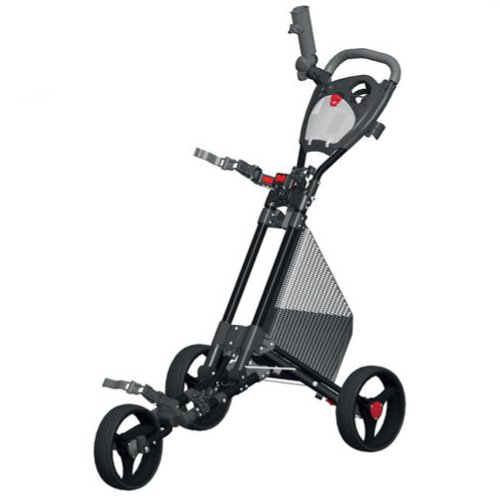 Spin It Golf Products GCPro II Push Golf Cart, Black