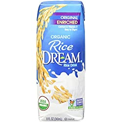 RICE DREAM Enriched Original Organic Rice Drink, 8 fl. oz. (Pack of 4)