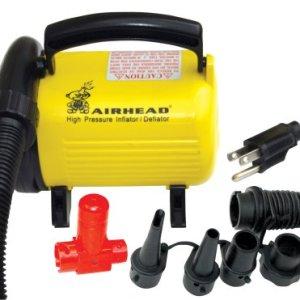 Airhead Hi Pressure Air Pump, 120v, Yellow/Black 41ZOS5vytFL