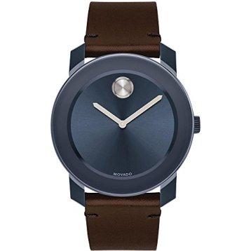 Movado Bold Quartz Movement Blue Dial Men's Watch 3600461