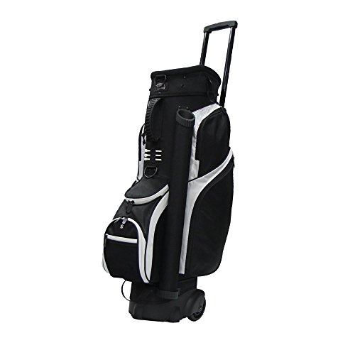 "RJ Sports Spinner Transport Bag, 9.5"", Black/Black"