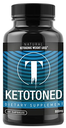 Keto Weight Loss Pills - Fat Burner Supplement for Women and Men - Exogenous Ketones Carb Blockers 60 Capsules