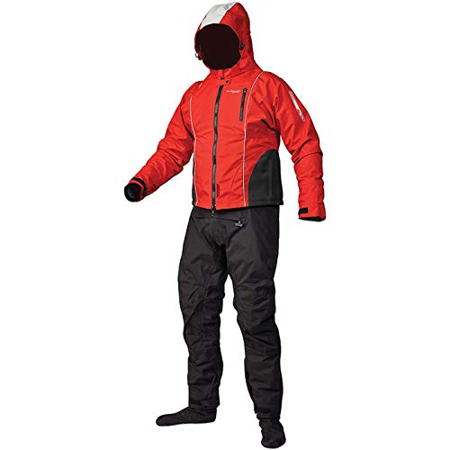 Stohlquist Waterware Shift Drysuit - X-Large, Red
