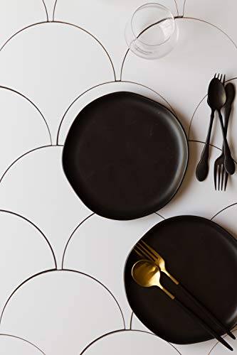 Bessie-Bakes-Scalloped-Tiles-Replicated-Photography-Backdrop-Board-for-Food-Product-Photography-3-ft-Wide-x-2ft-high-3-mm-Thick-Moisture-Resistant-Stain-Resistant-Lightweight