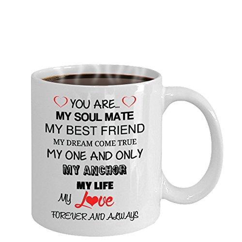 Ill Love You Forever Mug True Love Wife Husband Partner Fiance Boyfriend Girlfriend Coffee (white)