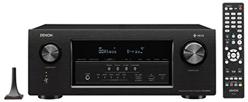Denon AVRS930H 7.2 Channel AV Receiver with Built-in HEOS wireless technology, Works with Alexa (Discontinued by Manufacturer)