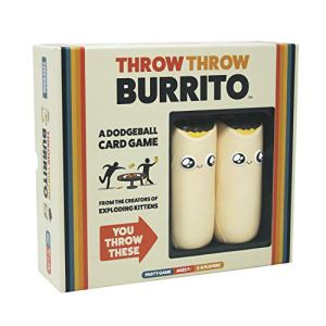 Throw Throw Burrito by Exploding Kittens - A Dodgeball Card Game - Family-Friendly Party Games - Card Games for Adults… 13