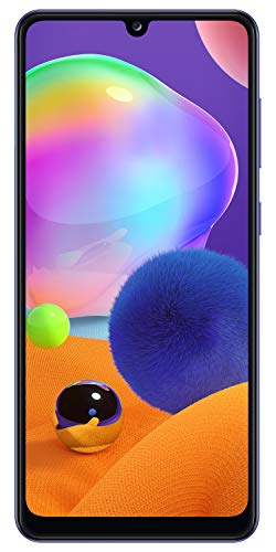 41ZeFqGnwbL - Samsung Galaxy A31 (Prism Crush Blue, 6GB RAM, 128GB Storage) with No Cost EMI/Additional Exchange Offers