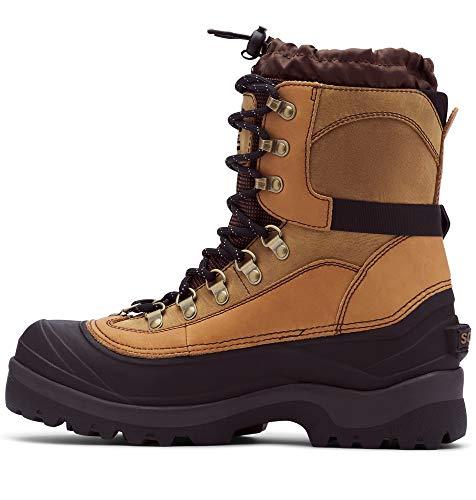 Sorel Men's Conquest Snow Boot, Bark, 13 M US