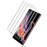 [3 Pack] LK for Samsung Galaxy Note 9 Screen Protector, Liquid Skin [Case Friendly] [Bubble-Free] HD Clear Flexible Film with Lifetime Replacement Warranty