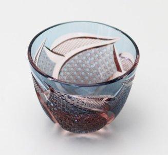 Edo Kiriko Guinomi (Sake Glass)