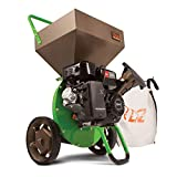 Earthquake TAZZ 30520 Heavy Duty 212cc Gas Powered 4 Cycle Viper Engine 3:1 Capable Multi-Function Wood Chipper Shredder 3' Max Wood Diameter Capacity, 5 Year Warranty
