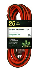 GoGreen Power – 16/3 SJTW Outdoor Extension Cord