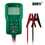 12v battery tester, Automotive Battery Load Tester and Analyzer Battery Tester Digital Analyzer Bad Cell Test Tool for Car/Boat/Motorcycle
