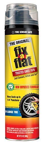 Fix-A-Flat S60269 Tire Inflator with Eco-Friendly Formula, (24 oz)