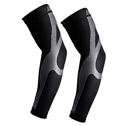 Enhanced Graduated Compression Arm Sleeves| 20-30mmHG | Improves and Maintains Blood Circulation Artritis Tendonitis| Relieves Pain & Supports Muscles - Joints | 1 Pair