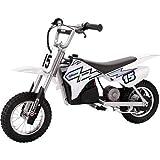 Razor MX400 Dirt Rocket Electric Motorcycle, White