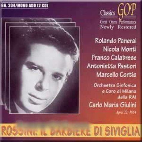 Rossini - Il Barbiere Di Siviglia - Carlo Maria Giulini : Gioacchino  Rossini, Karlo Mariya Dzhulini: Amazon.it: Musica