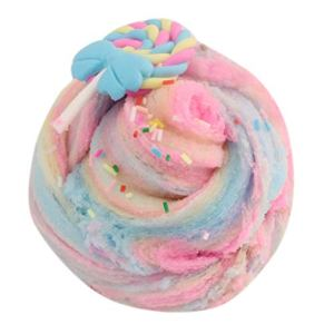 HUYURI Jumbo Blue Birthday Candy Cake Fluffy Cloud Slime Scented Therapeutic Putty 41a0EpNTk6L