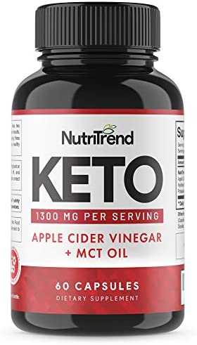 Keto Pills with Apple Cider Vinegar & MCT Oil, BHB Weight Loss Supplement, Detox Support and Immune Health, Manage Cravings & Improve Focus, Boost Energy & Metabolism - 30 Day Supply by NutriTrend 3