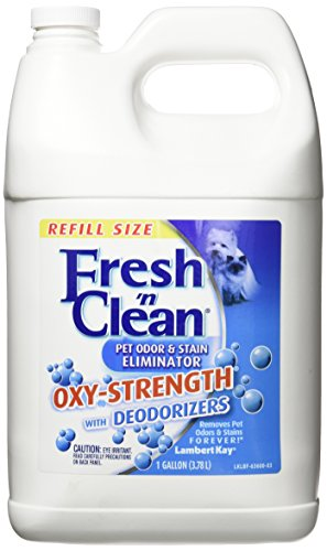 Lambert Kay Fresh 'N Clean Oxy-Strength Pet Odor and Stain Eliminator, 1-Gallon