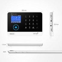 DIGOO-HOSA-2G-433MHz-GSMWiFi-Wireless-Home-and-Business-Security-Alarm-System-Smart-Security-System-DIY-Kits-Burglar-Alarm-with-PIR-Sensor-DoorWindow-Sensor-and-Remote-ControllerAPP-Control