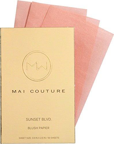 41aJDHXtKSL Blush without a brush Definitely a handbag essential One booklet contains 50 sheets