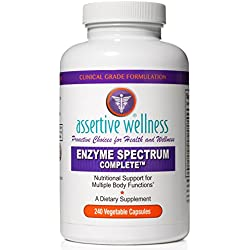 Digestive Enzymes Alone Are Not Enough - Enzyme Spectrum Complete Simultaneously Promotes Healthy Digestion, Enhances Nutrient Absorption, Reduces Inflammation & Neutralizes Phytic Acid In Your Diet