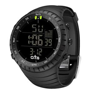 PALADA Men's Digital Sports Watch Waterproof Tactical Watch with LED Backlight Watch for Men 16 Fashion Online Shop Gifts for her Gifts for him womens full figure