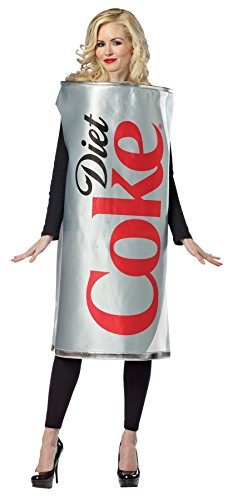 Coca-Cola Can Diet Adult Costume