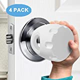 Door Knob Safety Cover, Child Proof Door Knob Covers, Baby Safety Doorknob Handle Cover Lockable Design. (4Pack)