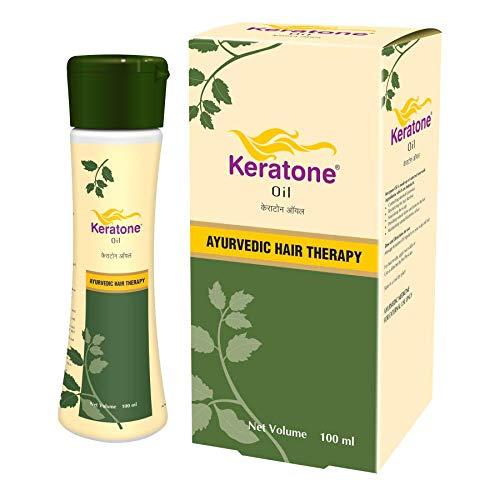 Keratone Oil – Ayurvedic Hair Therapy for scalp nourishment   Anti Dandruff  Hair Revitalizer – 100 ml