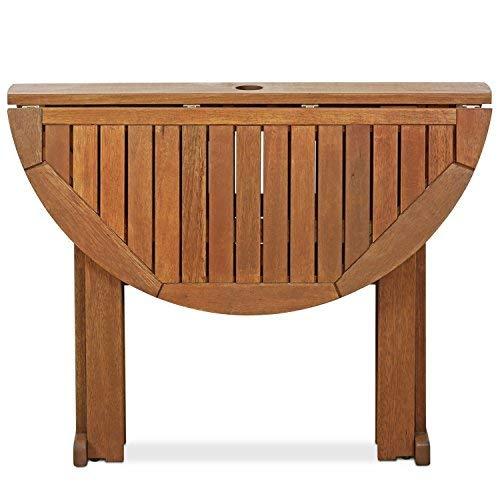 Furinno-FG17035-Tioman-Hardwood-Patio-Furniture-Gateleg-Round-Table-in-Teak-Oil-Natural