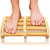 Christmas Gifts Dual Foot Massager Roller - Original Shiatsu Massage for Foot, Leg, Back - Relax & Relieve Foot Pain, Plantar Fasciitis, Stress Relief - Unique Gifts for Men, Women, Mom, Dad, Teacher