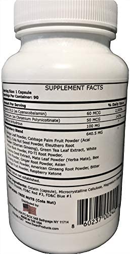 Maximum OxyElite Thermogenic Fat Burner Pro Formula - Weight Loss Supplement, Energy Booster, Appetite Control, Keto, Diet Pills 90 Capsules 2